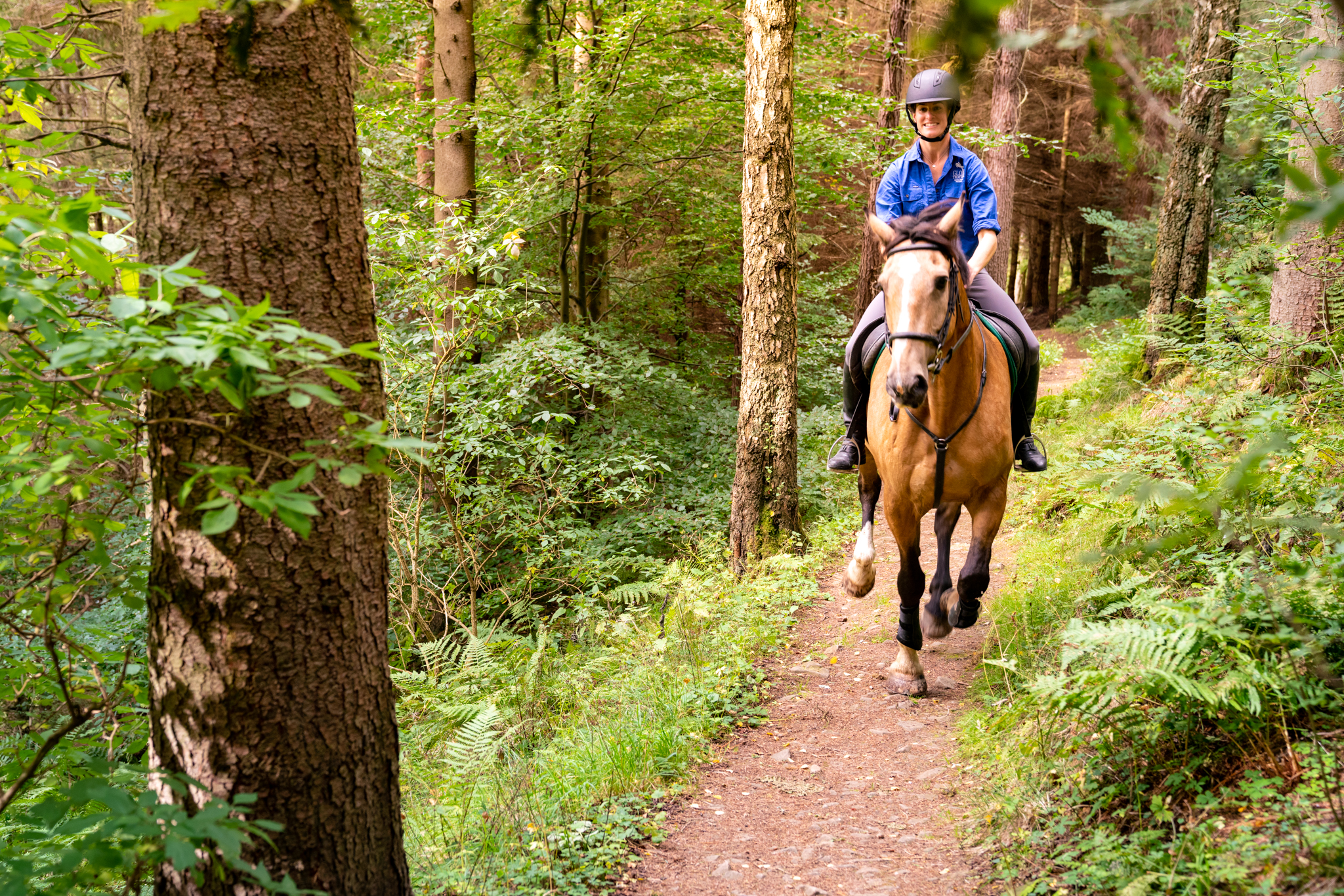 horse riding holiday Scotland