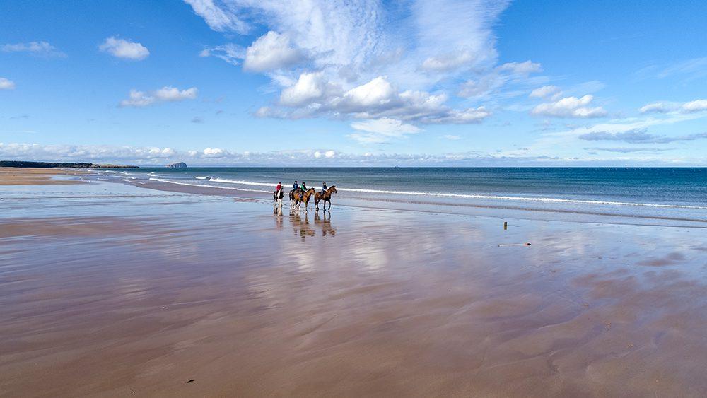 horse riding holiday Scotland