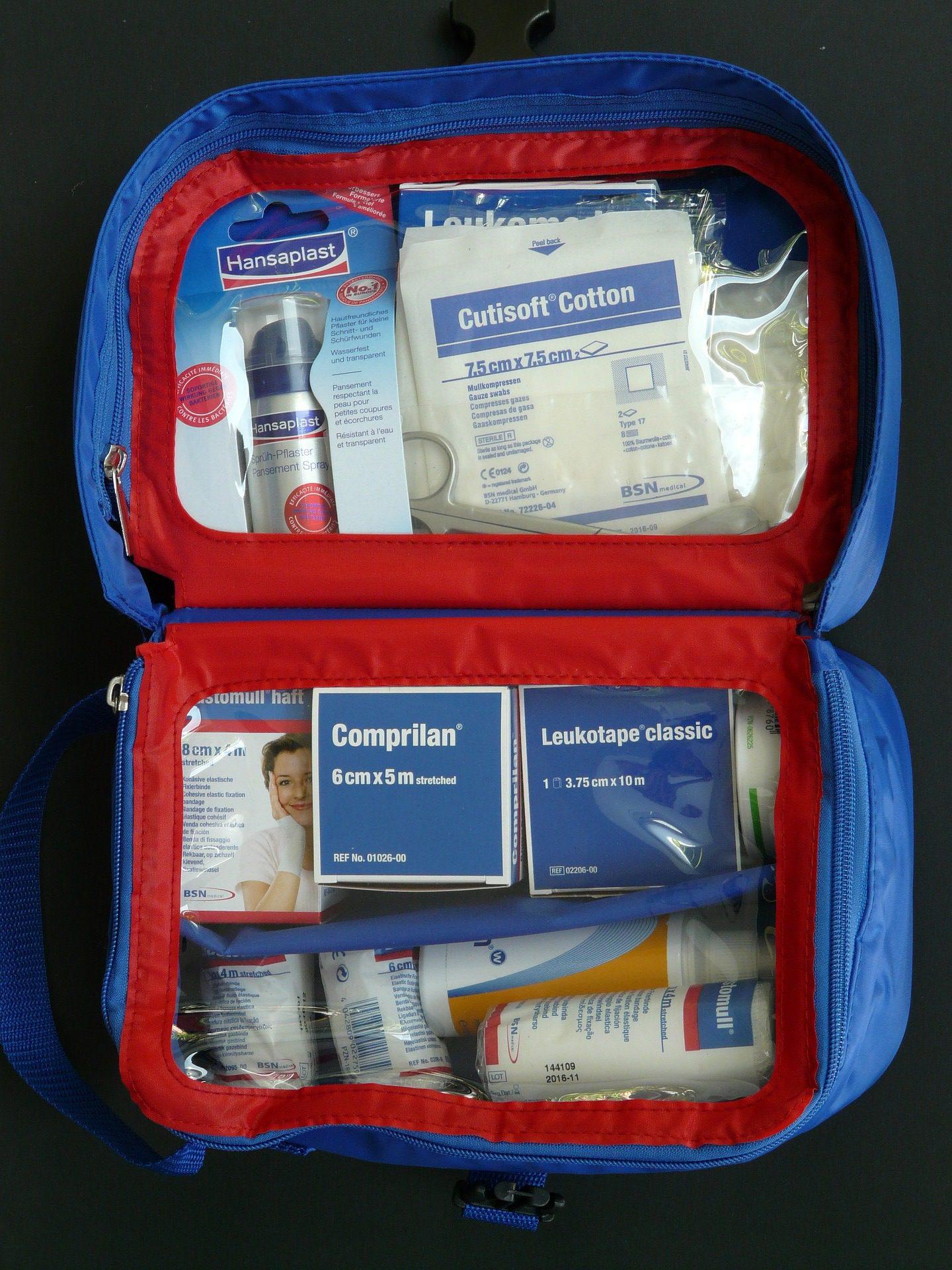 first aid essentials travel kit