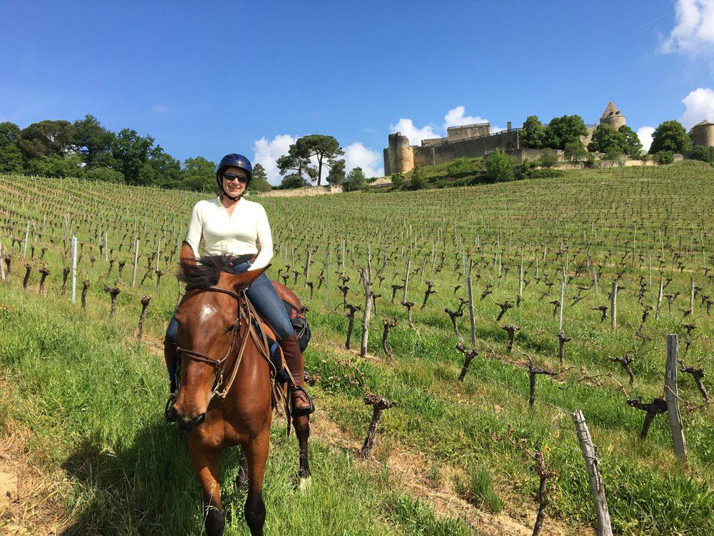 horse riding holiday France