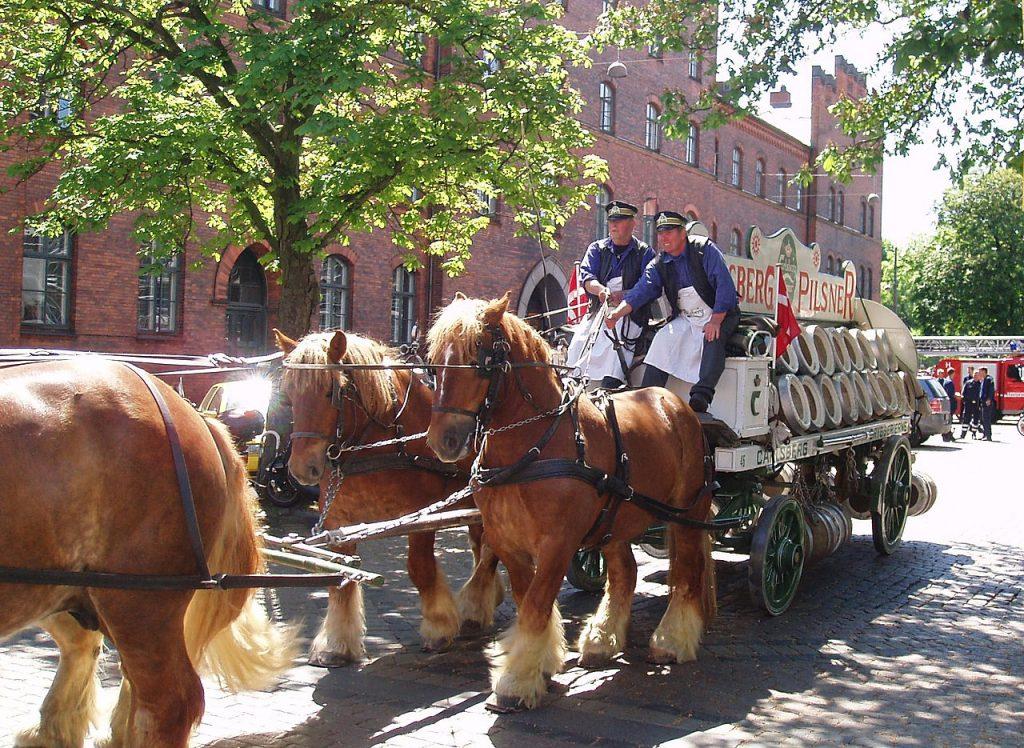 The Carlsberg Horses - image by EPO on Danish Wikipedia, via Wikimedia Commons (CC BY-SA 3.0) - Globetrotting horse riding holidays