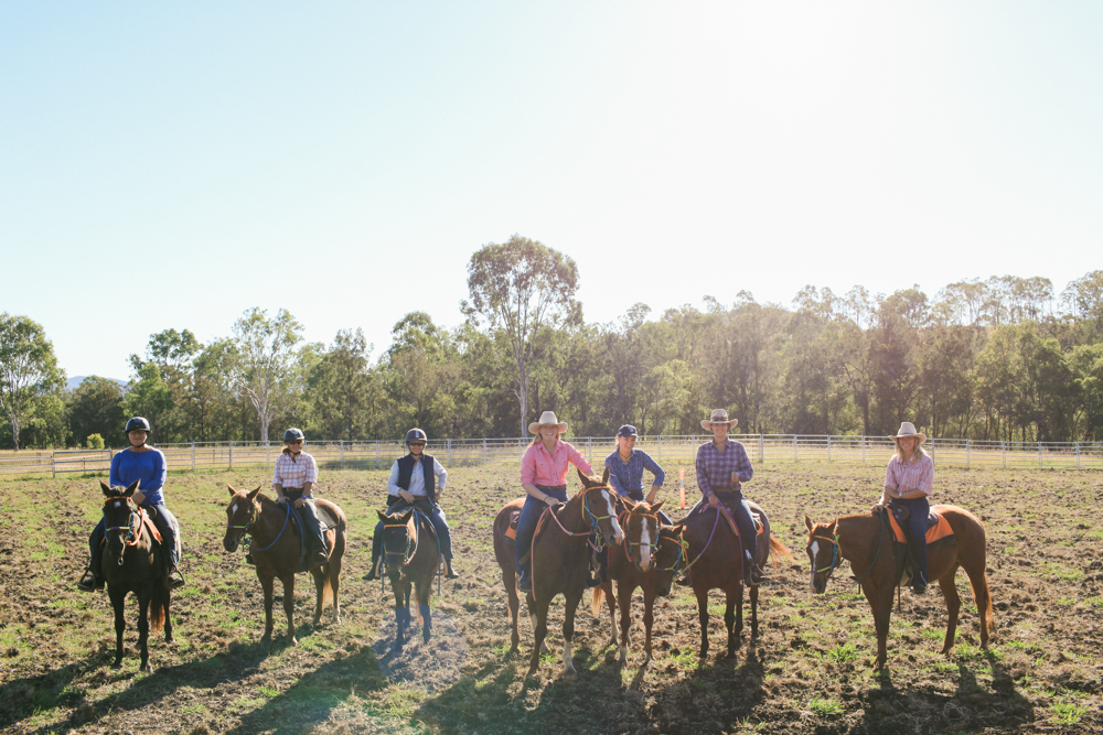 campdrafting horse riding holiday