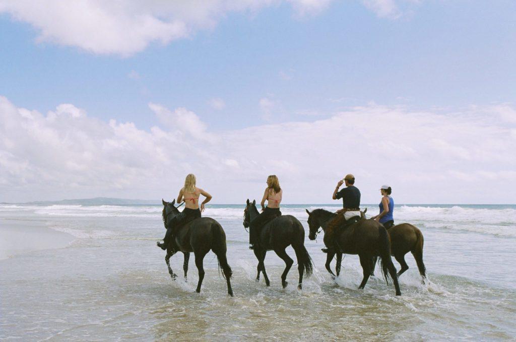 Bush and Beach ride, Australia