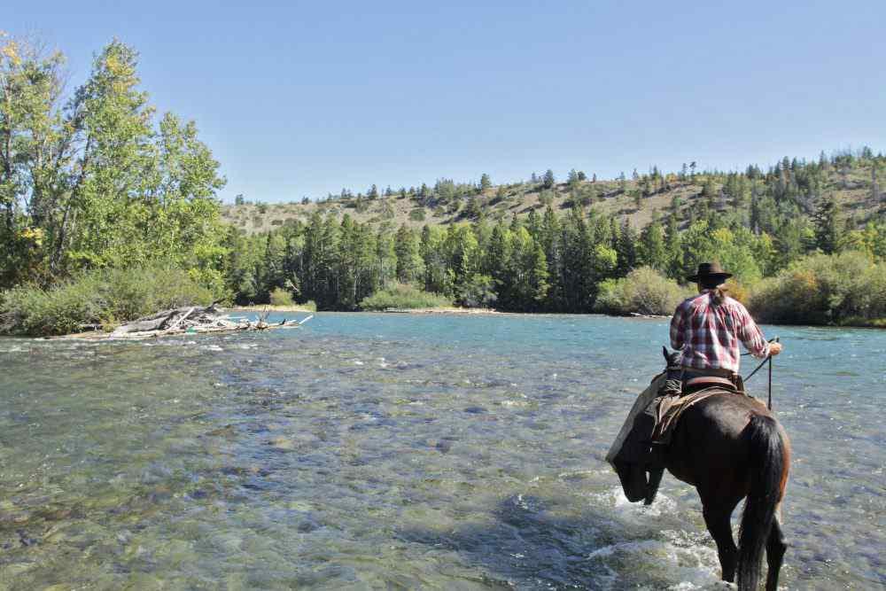 Horse riding holiday Canada