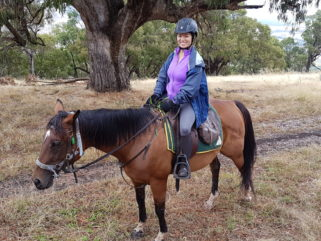 horse riding holiday Australia meet a globetrotter