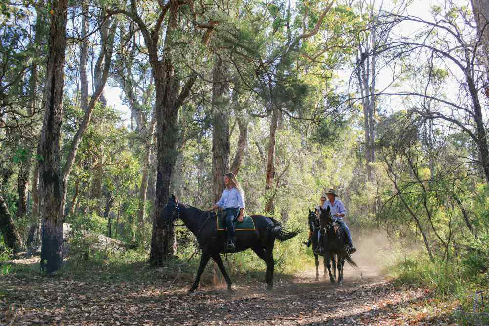 horse riding holiday Margaret River
