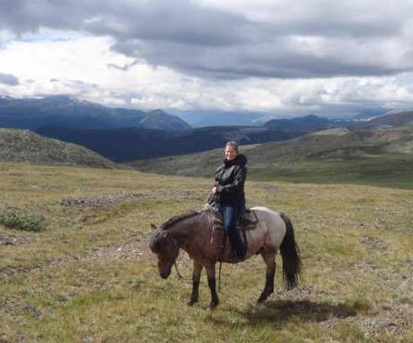 Globetrotting horse riding holiday Mongolia
