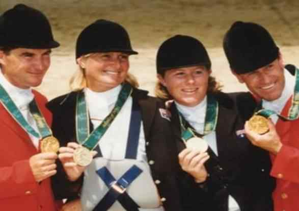 1996 Atlanta Olympic Games Australian Eventing Team