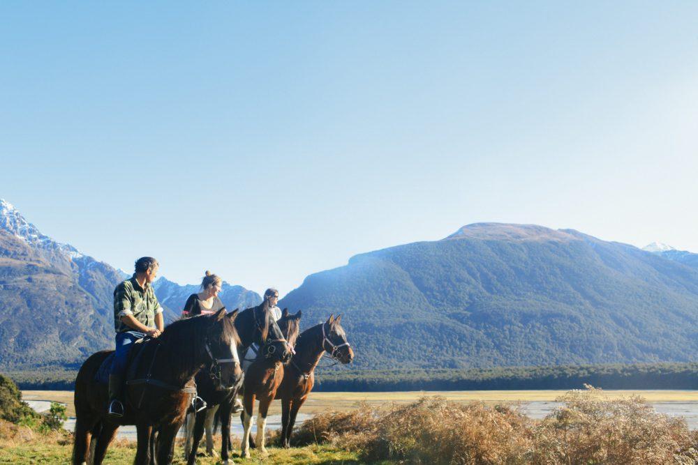 horse riding holiday New Zealand