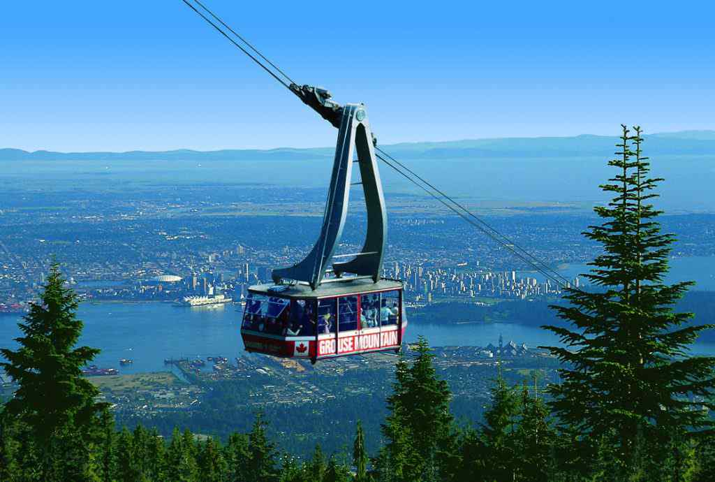 Grouse-Mountain-Skyride-summer