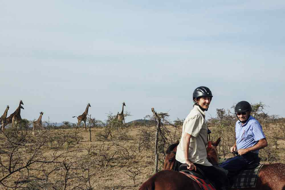 Globetrotting horse riding holiday in the Maasai Mara, Kenya