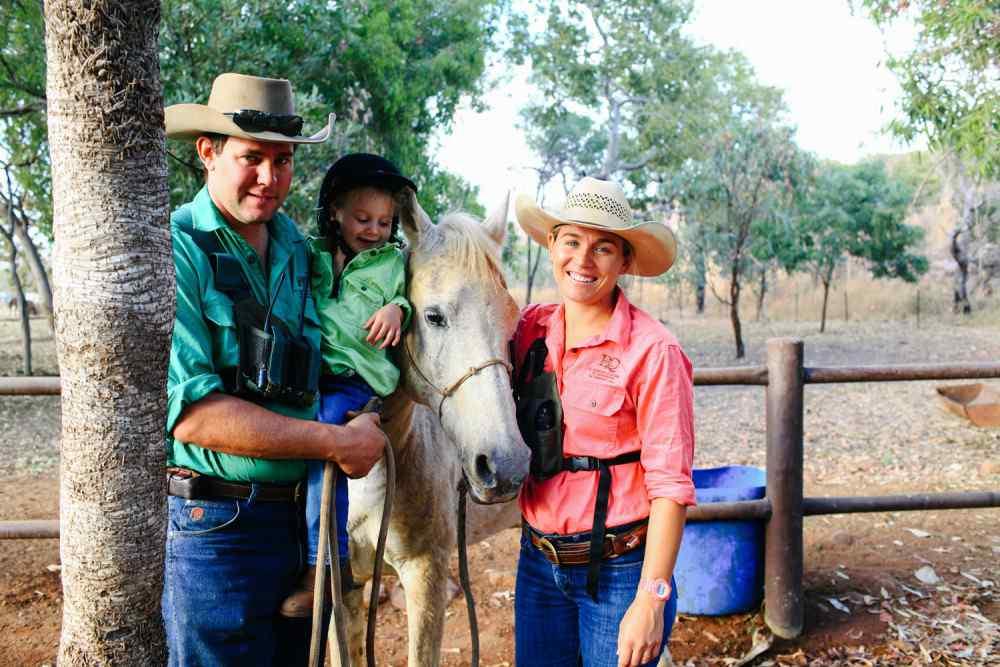 the kimberley horse riding holiday
