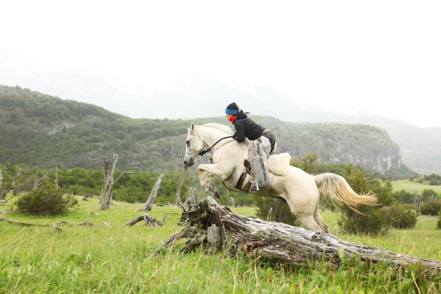 cross country horse riding holiday