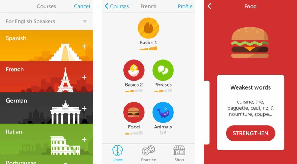 best iphone app for learning a language