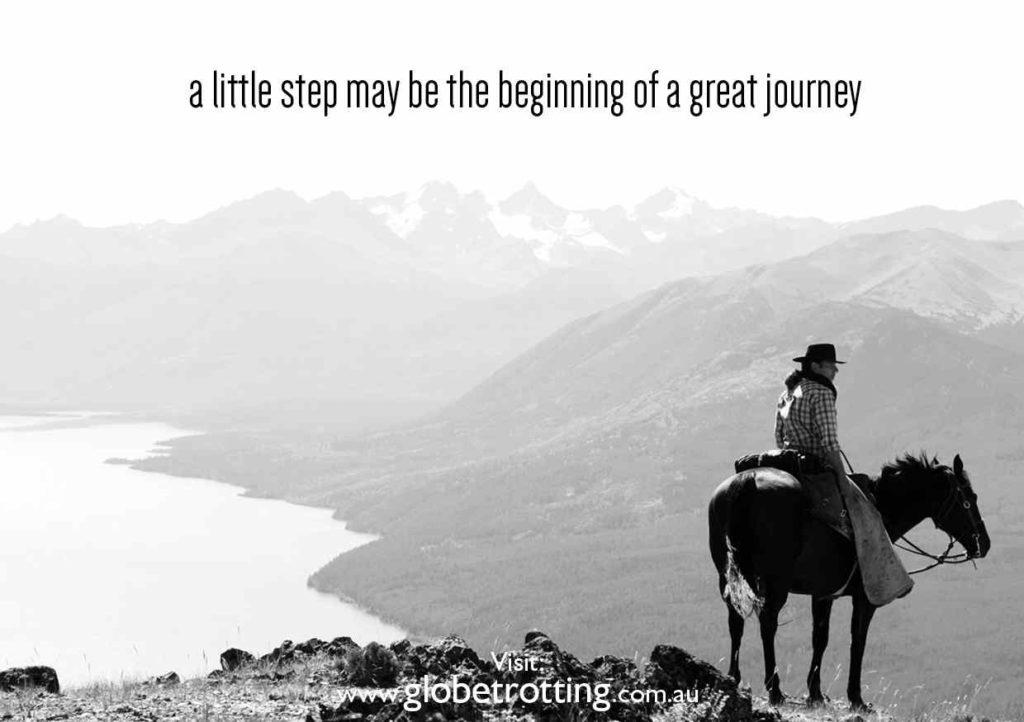 a little step