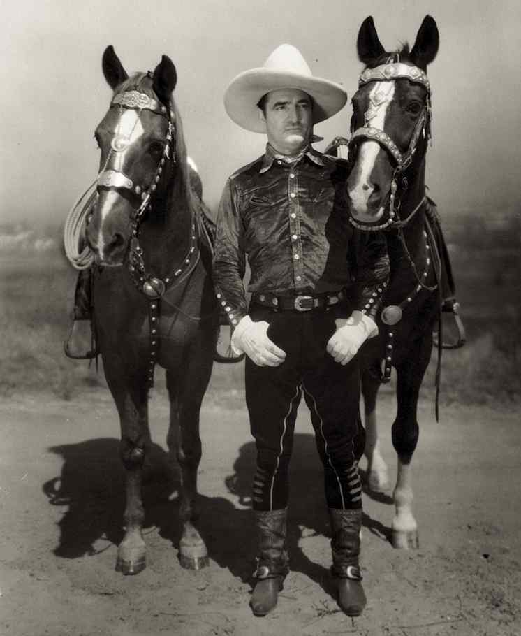 27_Tom Mix with both Tonys