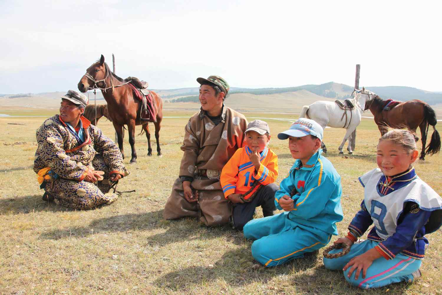 horse riding trek mongolia