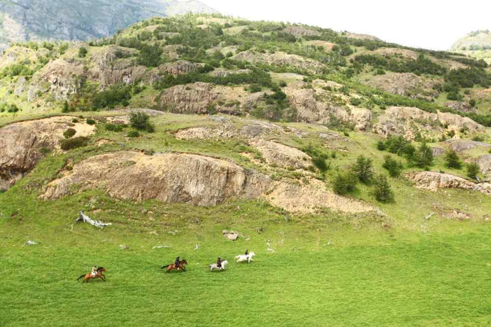 Horse riding adventure chile