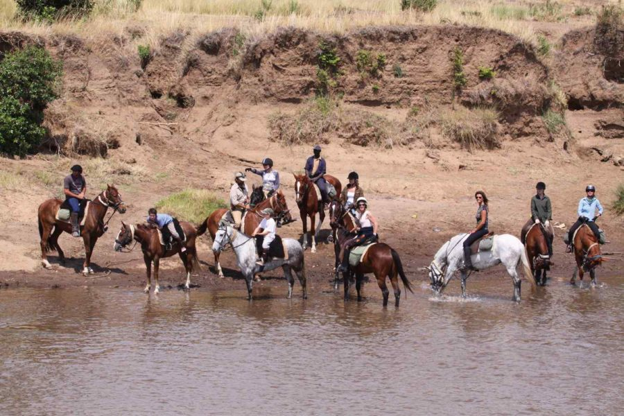 Horse riding holiday Kenya